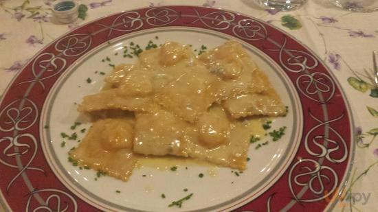 Tortelli con pasta integrale ripieni di patate speck e fonduta di gorgonzola! ♡