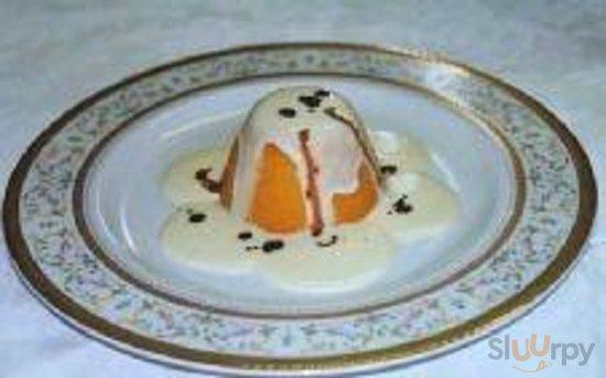 sformato di zucca con crema di parmigiano reggiano e aceto balsamico...