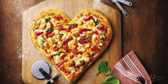 cuor di pizza by Rosso Pizza
