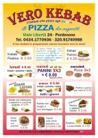 Foto del menù di VERO KEBAB