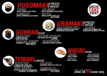 Menu WE LOVE SUSHI