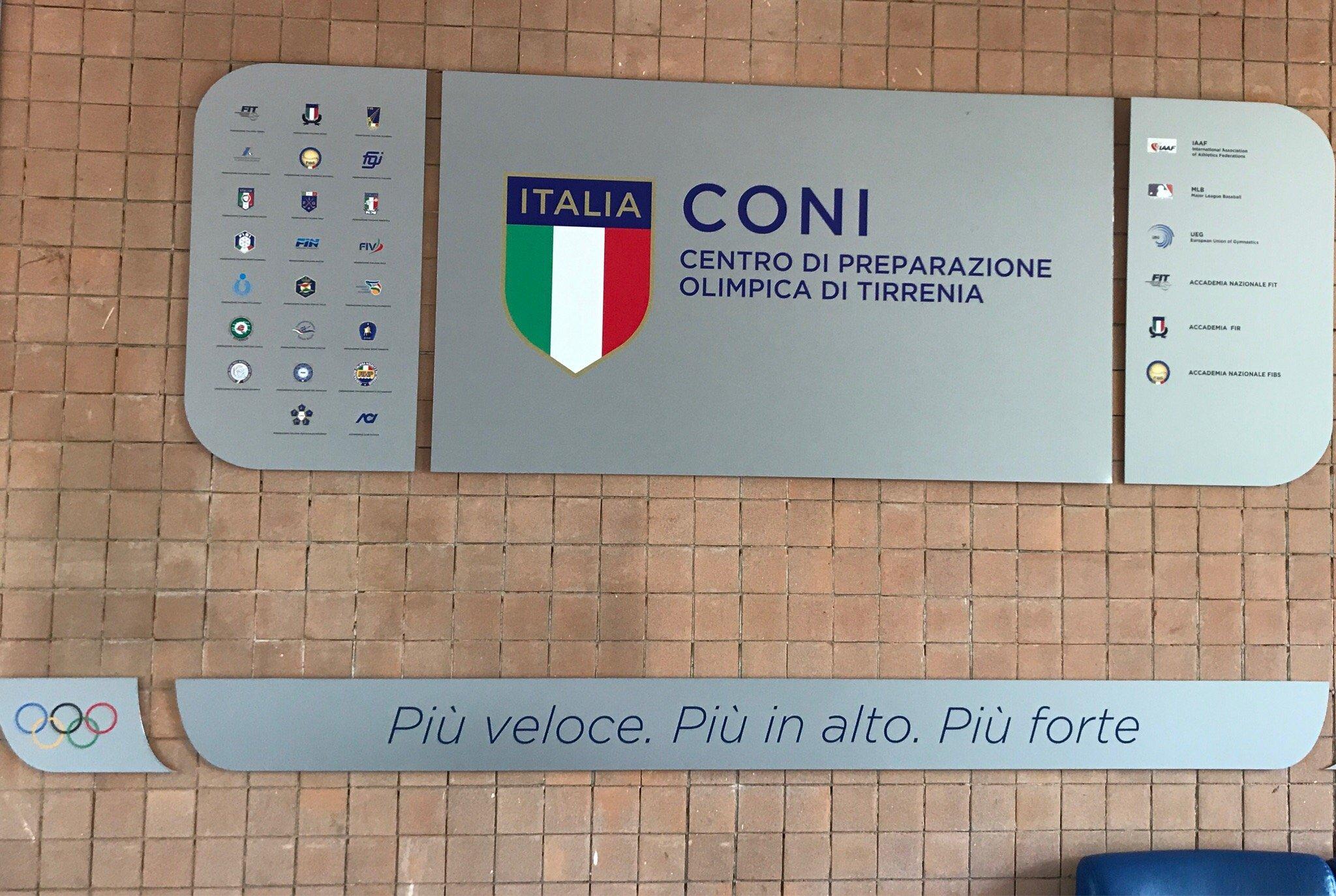 Centro Di Preparazione Olimpica Di Tirrenia (Pi)