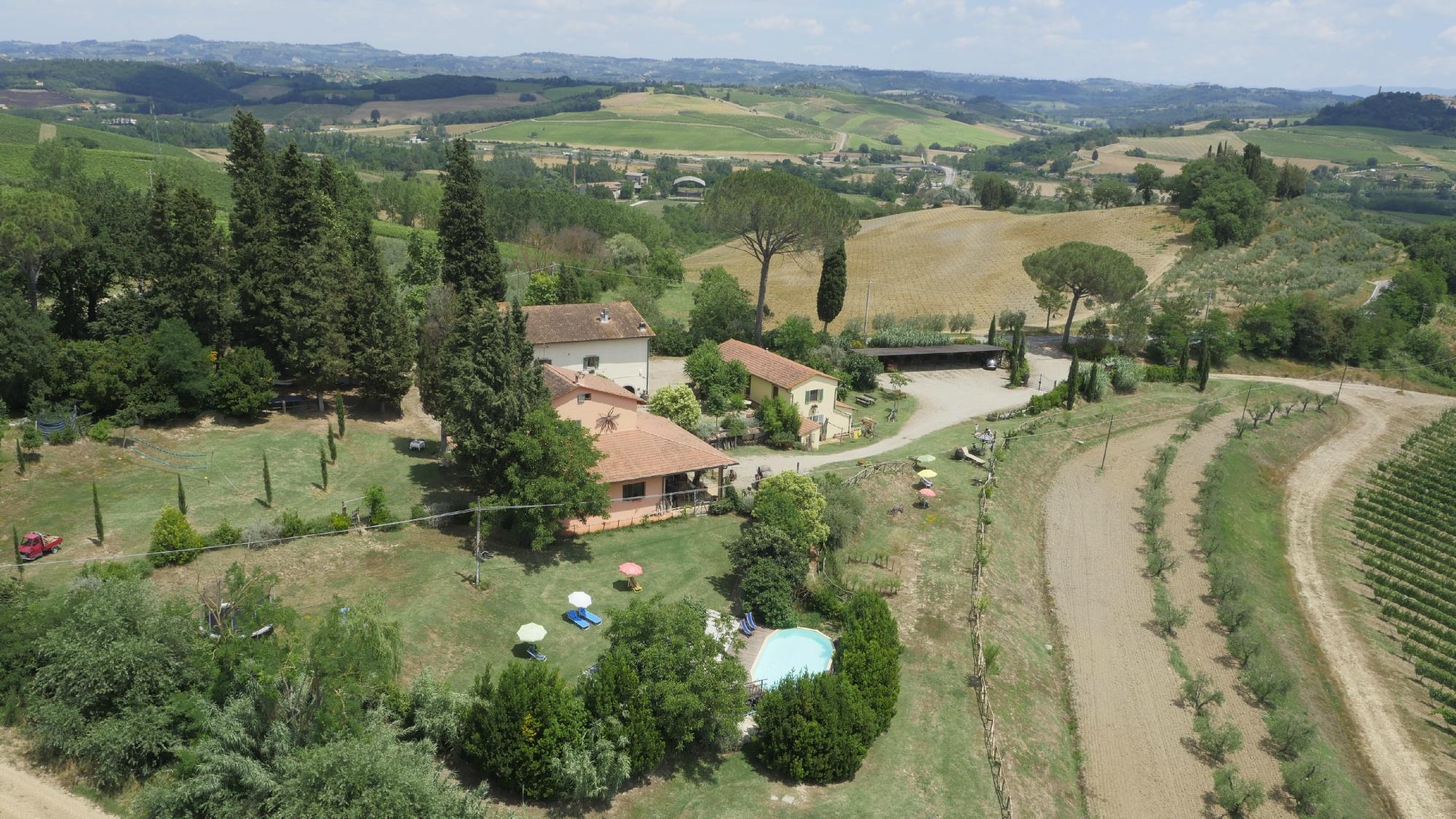 Agriturismo Poggio ai Cieli a San Gimignano