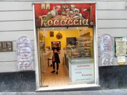 Focacceria, Genova