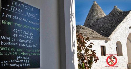 Trattoria Terra Madre, Alberobello