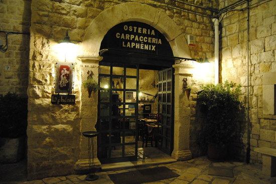 Osteria Carpacceria La Phènix, Giovinazzo
