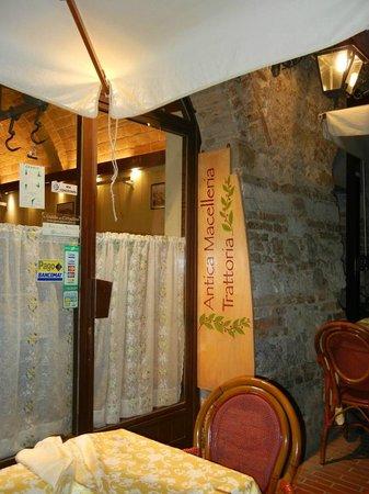 Antica Macelleria Trattoria, San Gimignano