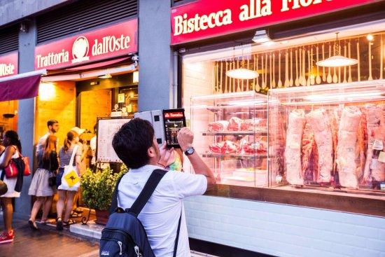 Foto del ristorante TRATTORIA DALL'OSTE BISTECCA FIORENTINA CHIANINA