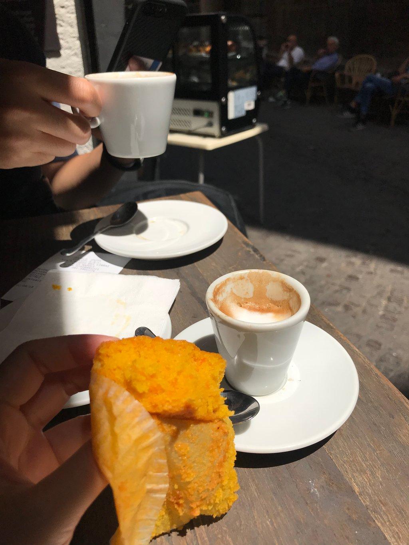 Anhélo Caffè, Napoli