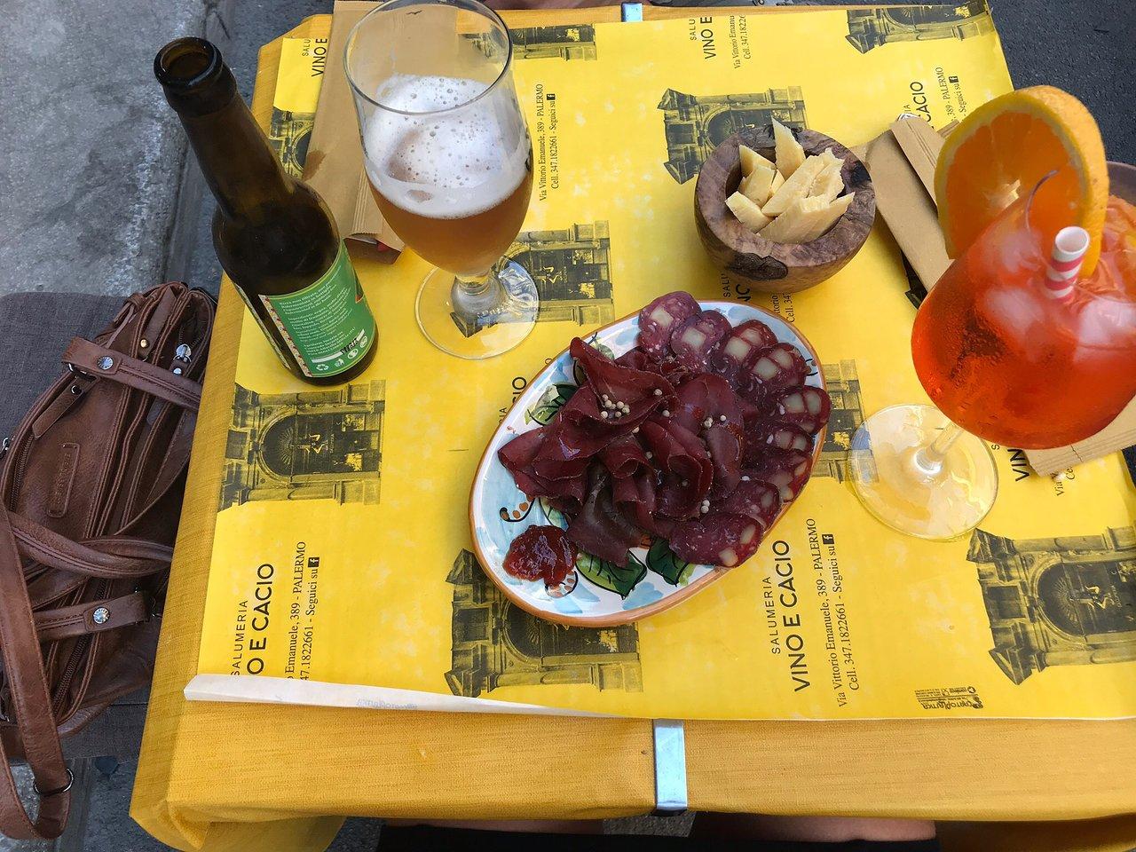 Salumeria Vino E Cacio, Palermo
