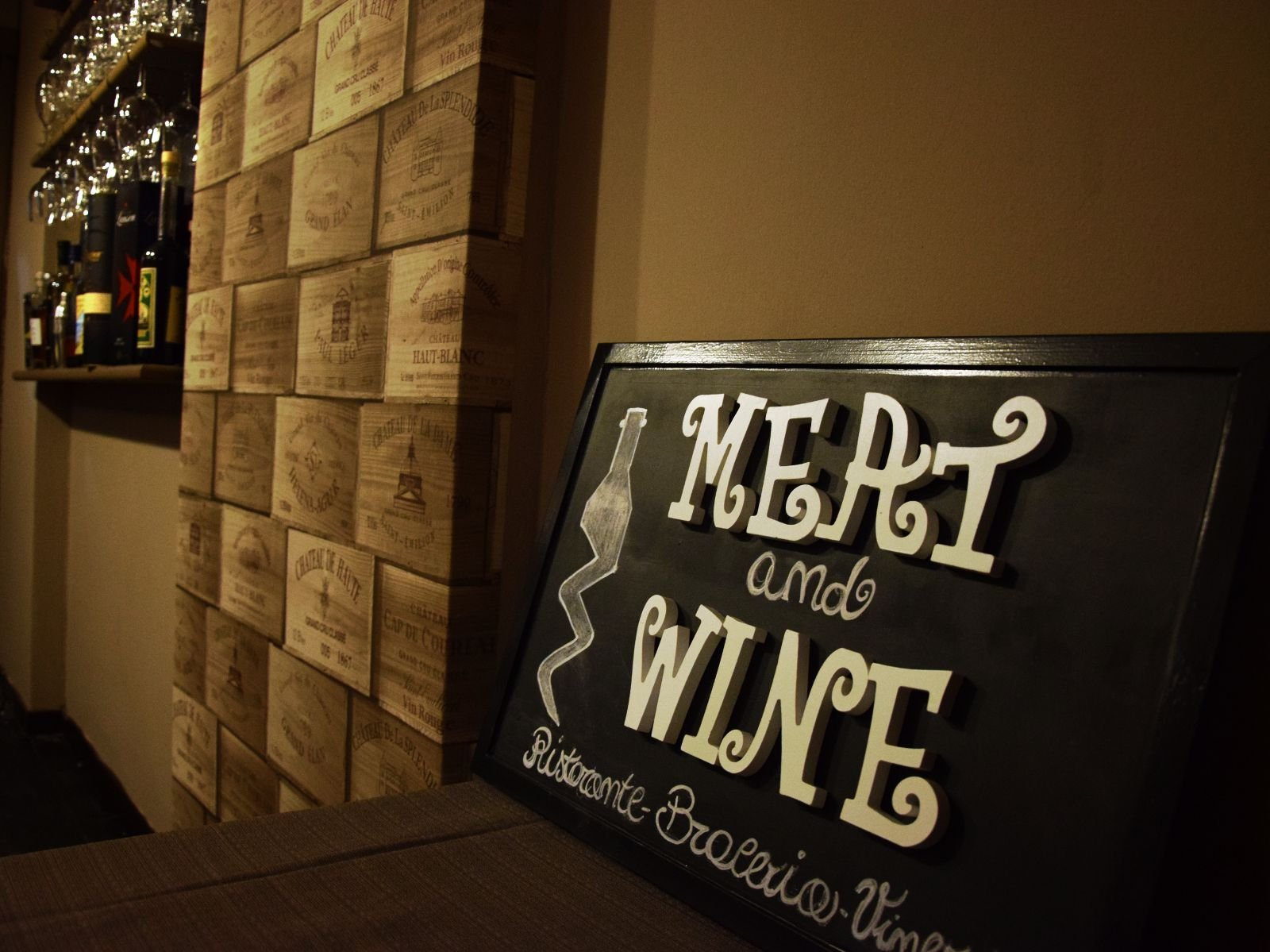 Meat And Wine, Avellino