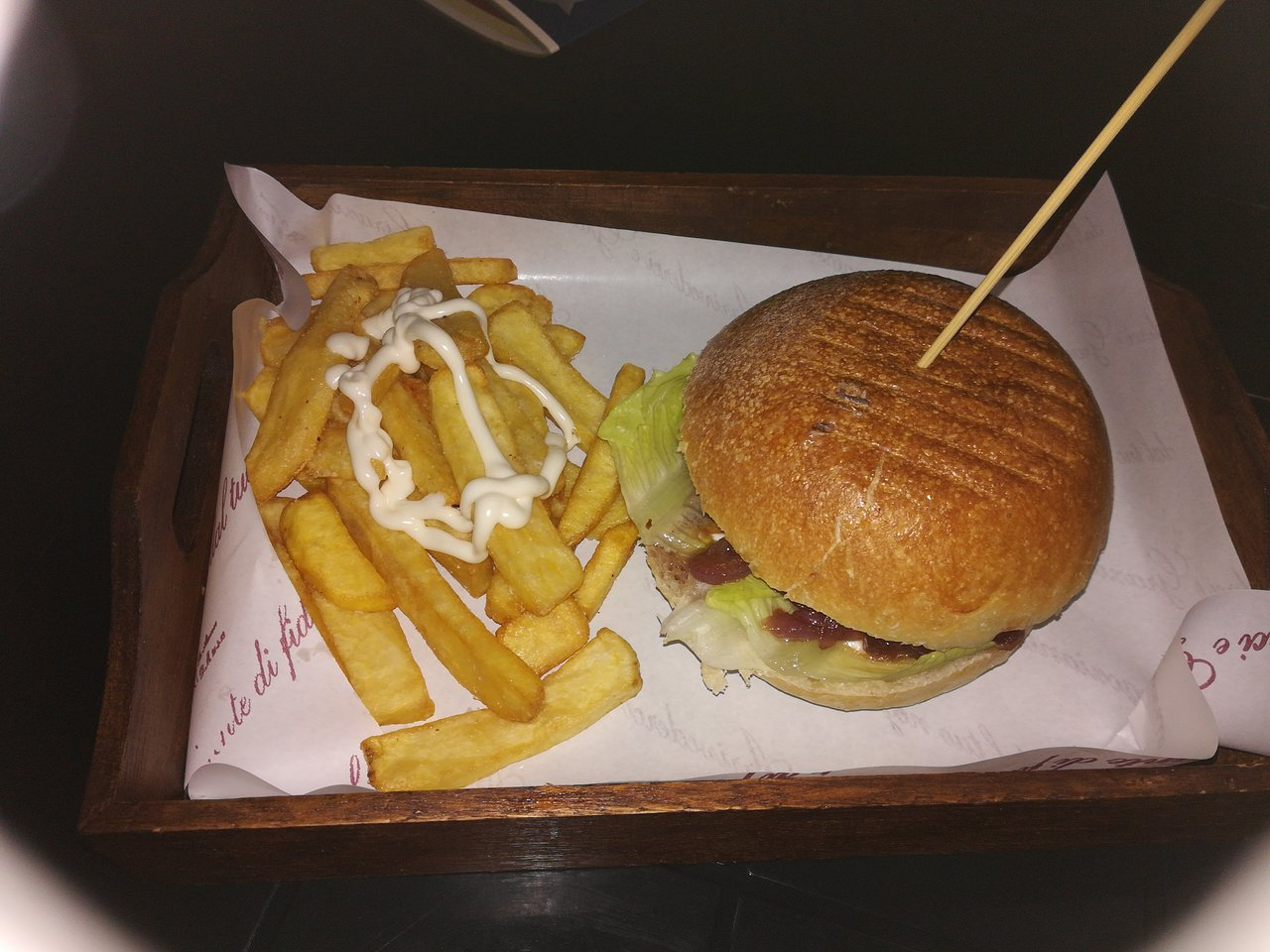 Boom Burger Da Chry, Palmi