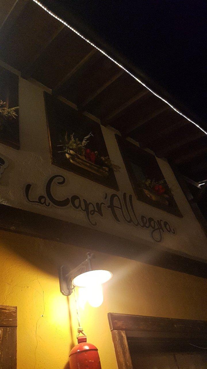 Ristorante La Capr'allegra, Gallio