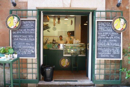 Pasta Imperiale, Roma