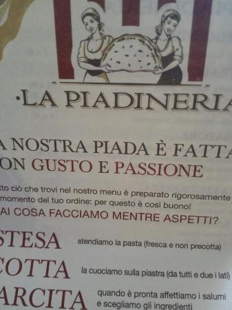 Foto del ristorante LA PIADINERIA - Piacenza, Via Martiri