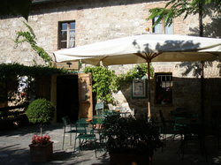 The thermal baths of bagno vignoni relax and wine tastings