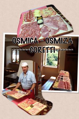 Osmiza Coretti, Trieste