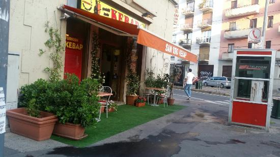 San Siro Kebab, Milano