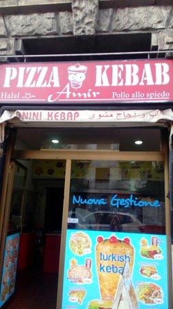Kebab Amir, Milano