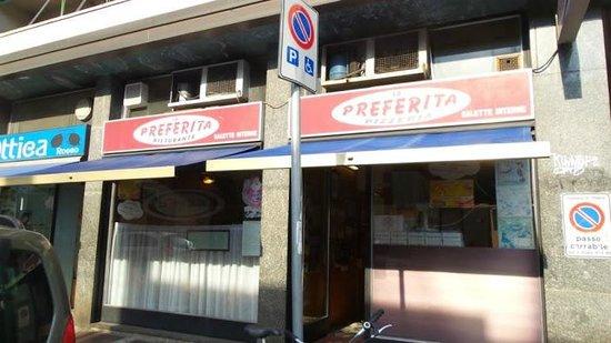 La Pizzeria Preferita, Milano