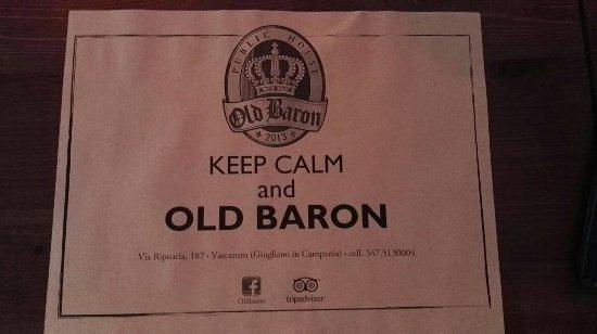Old Baron, Varcaturo