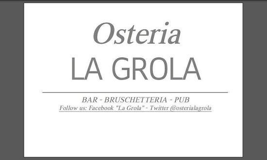 La Grola, Sovizzo