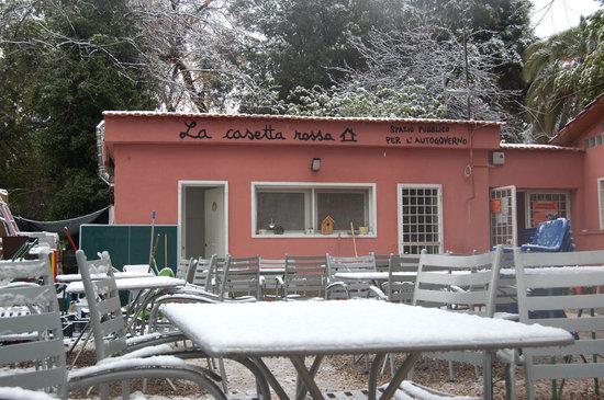 Casetta Rossa, Roma
