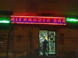 Alexander Bar, Roma