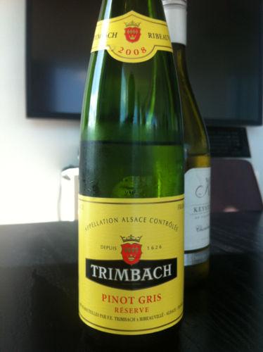 Trimbach Pinot Gris Alsace Réserve 2008