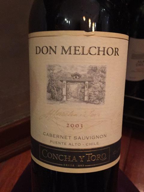 Don Melchor Cabernet Sauvignon 2003
