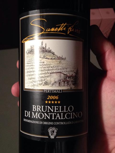 Sassetti Livio Pertimali Brunello di Montalcino 2006