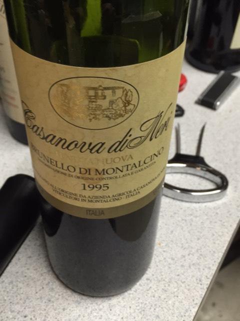 Casanova di Neri Brunello di Montalcino Tenuta Nuova 1995