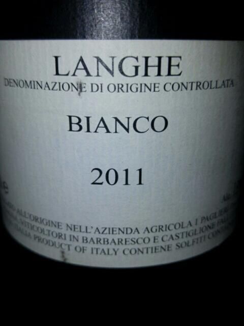 Roagna Langhe Bianco 2011