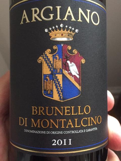 Argiano Brunello di Montalcino 2011