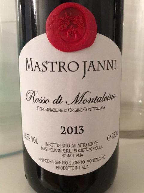 Mastrojanni Rosso di Montalcino N.V.