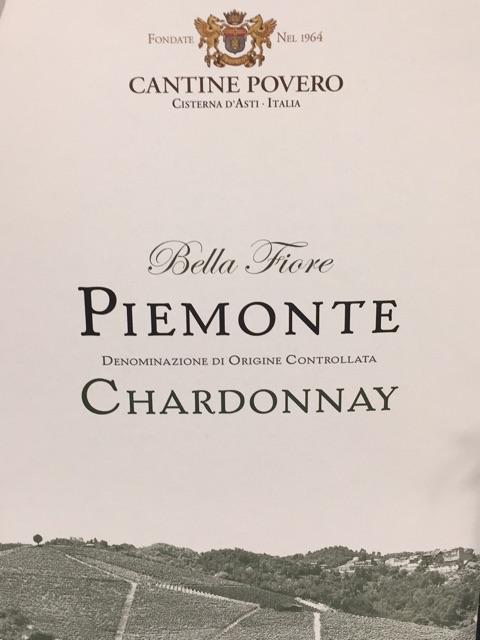 Povero Piemonte Chardonnay U.V.
