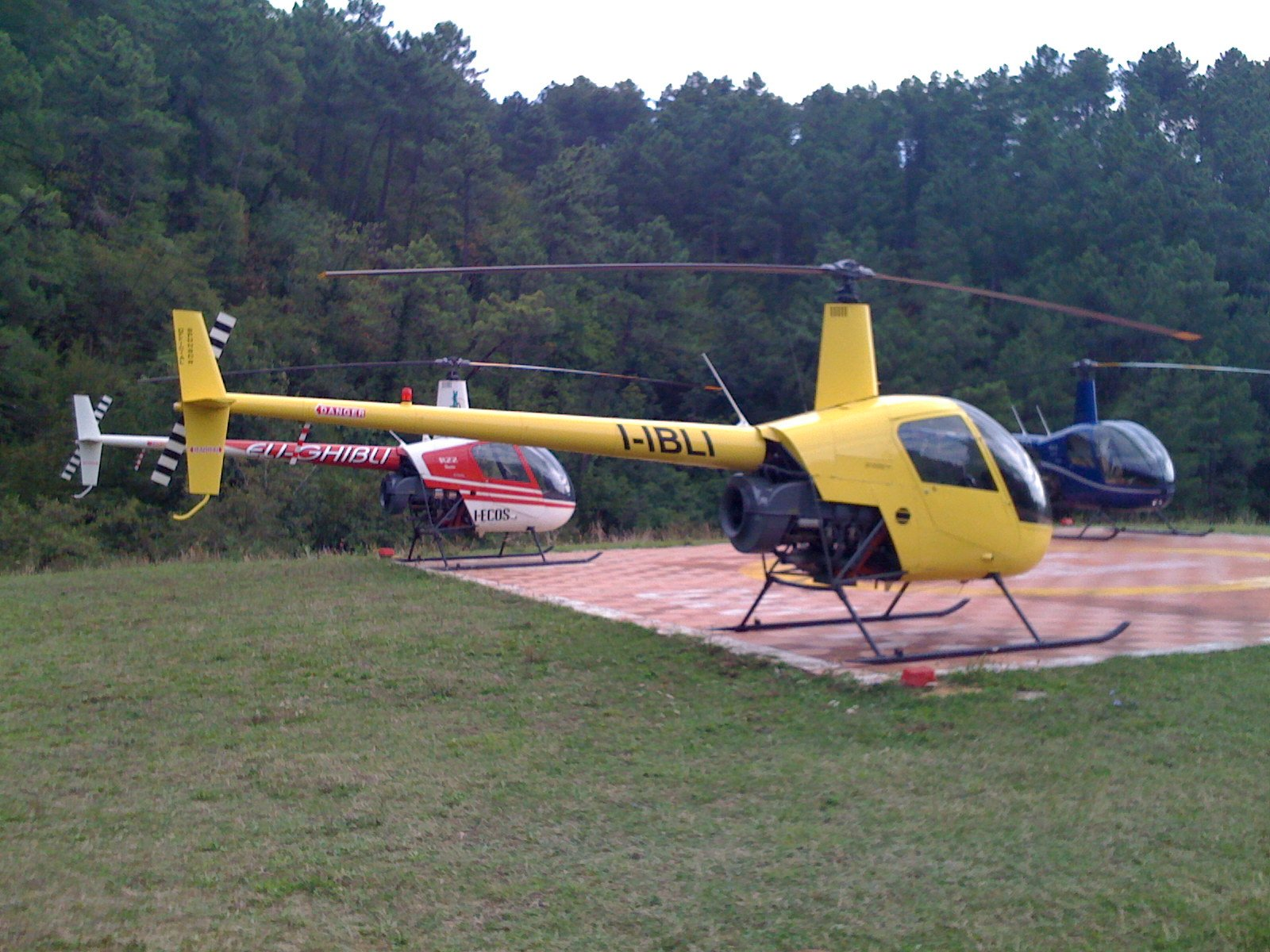 ELI-GHIBLI Helicopter