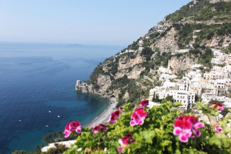 Into the Amalfi Coast