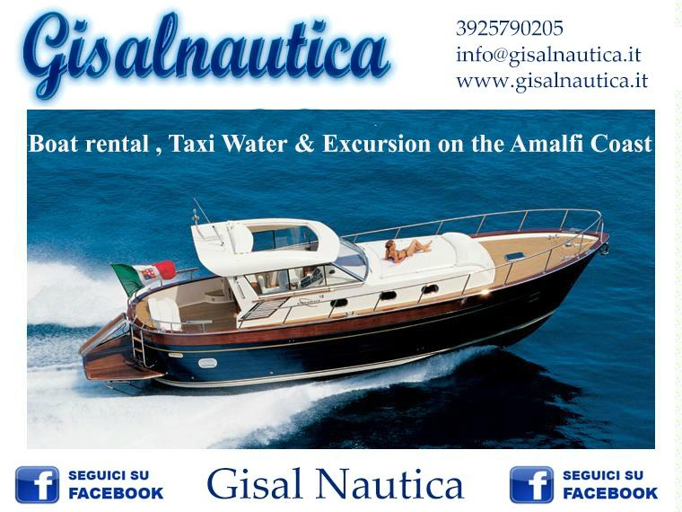 Gisal Nautica - Boat rental , Taxi Water & Excursion on the Amalfi Coast