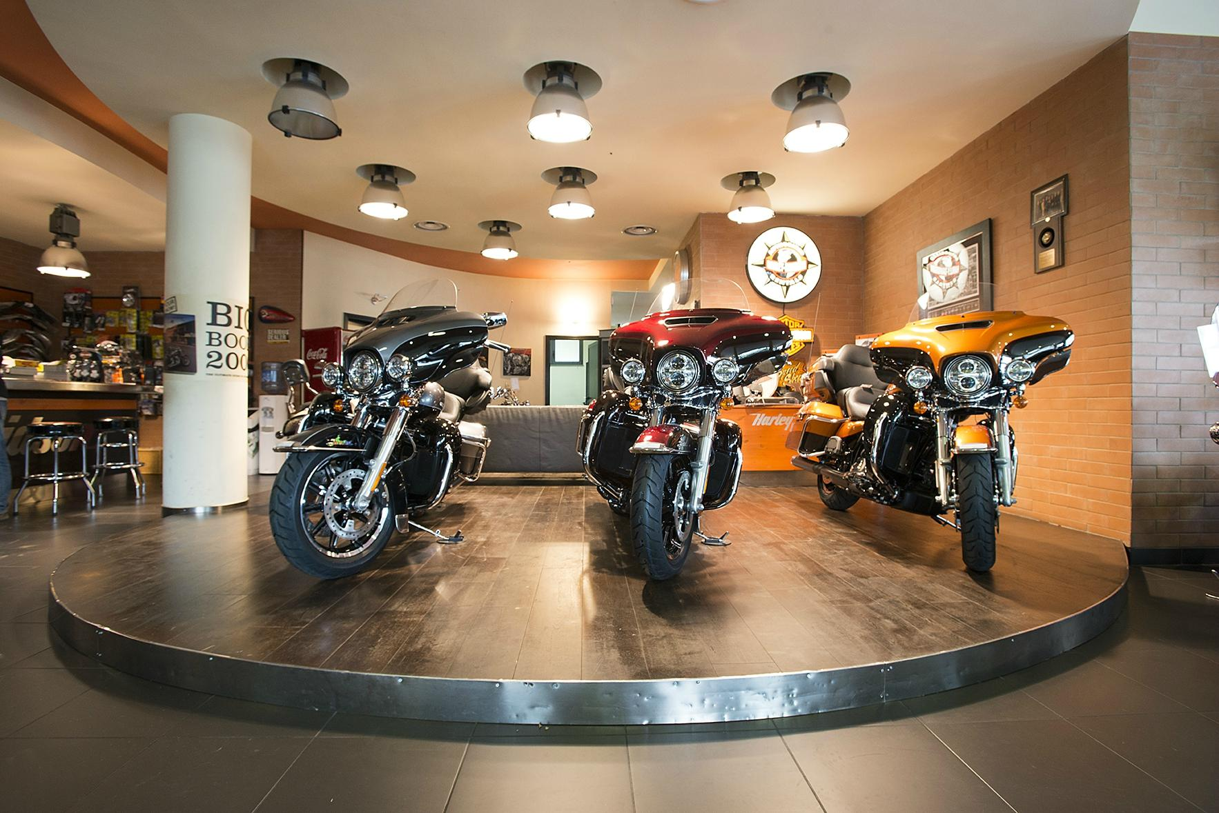 Harley-Davidson Speed Shop - Rentals