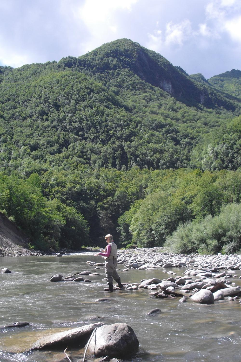 Fly Fishing Italy