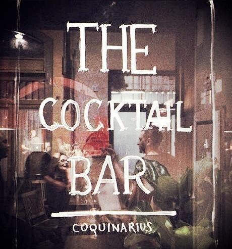 The cocktail bar