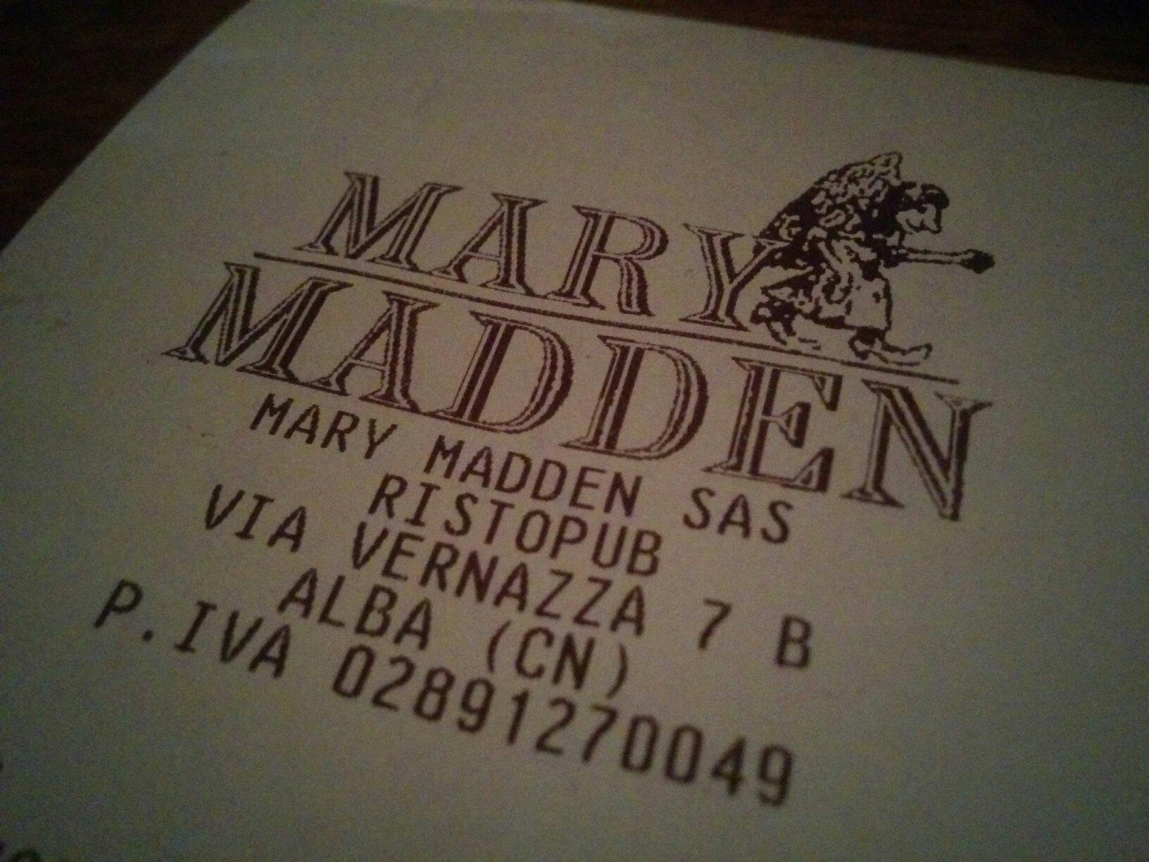 Mary Madden Irish Pub