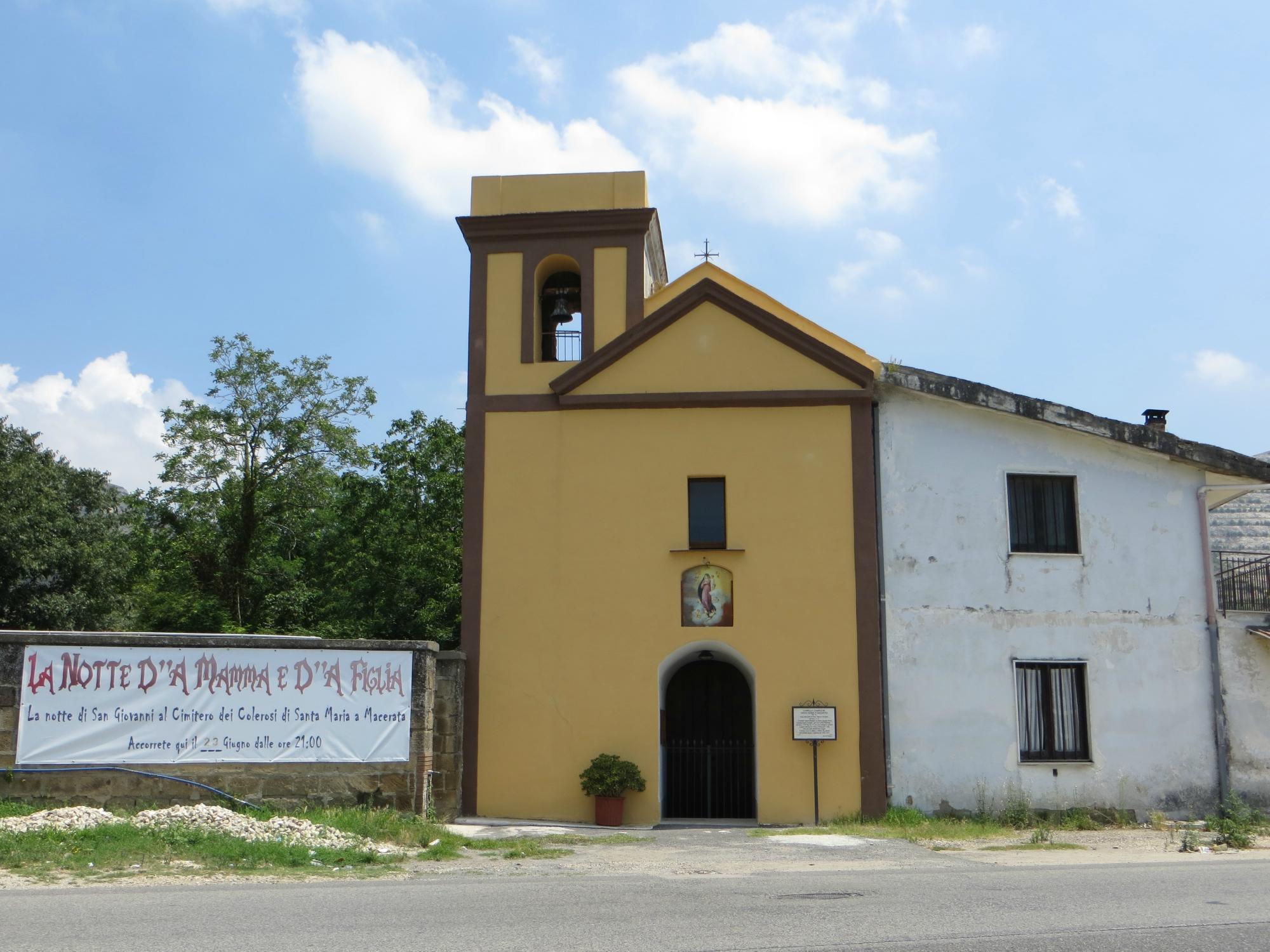 Cappella Campestre di Santa Maria a Macerata