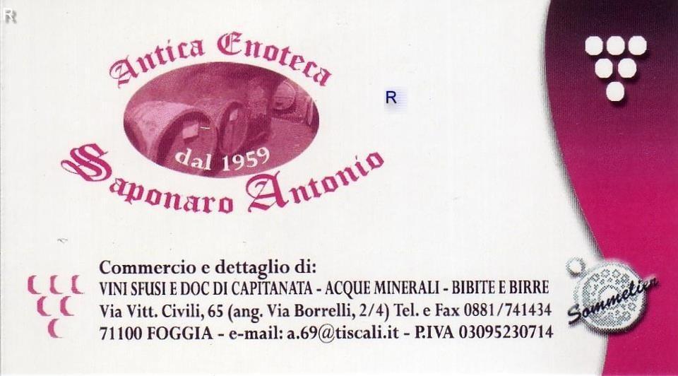 Antica Enoteca Saponaro
