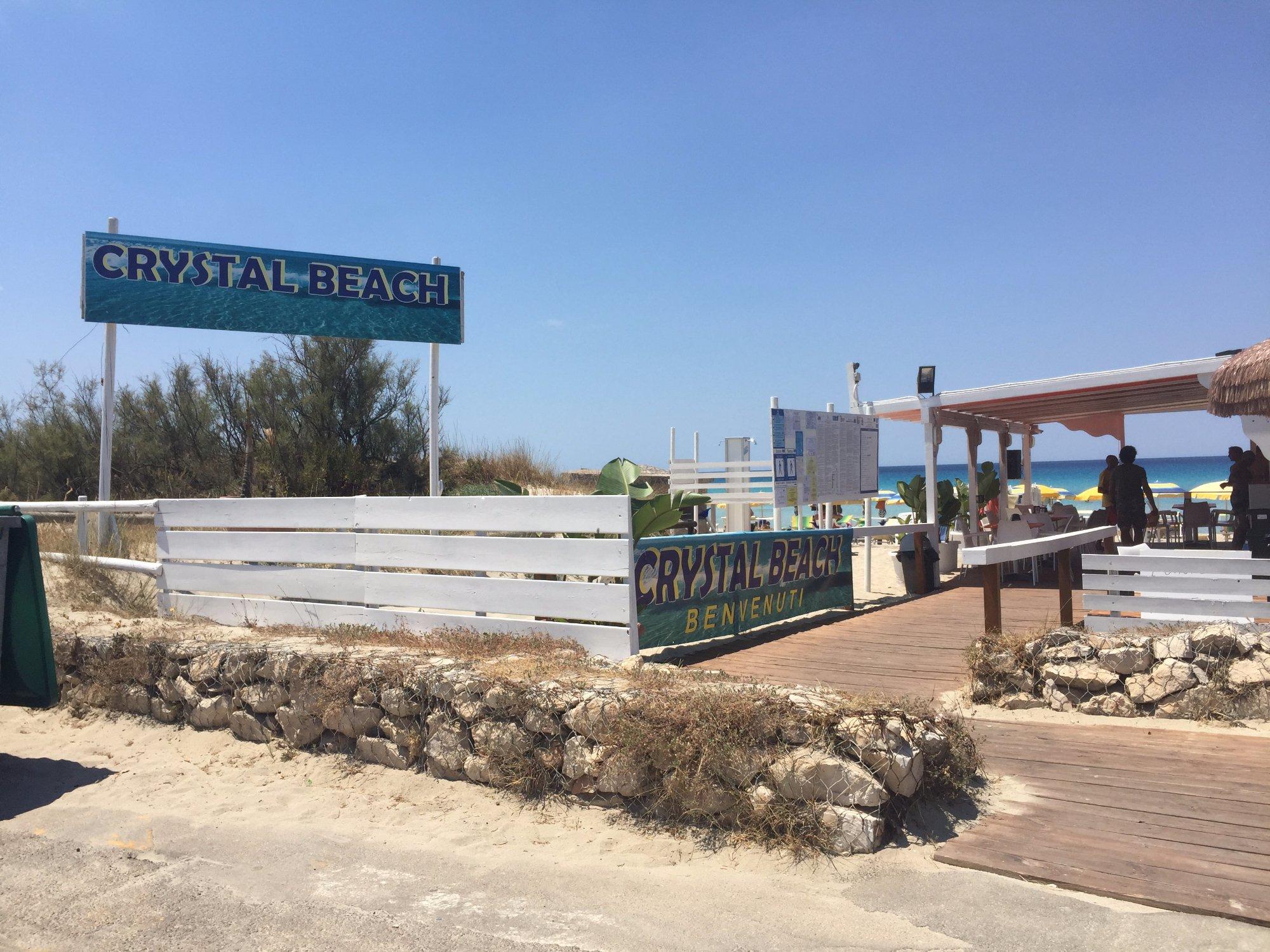 Crystal Beach Gallipoli