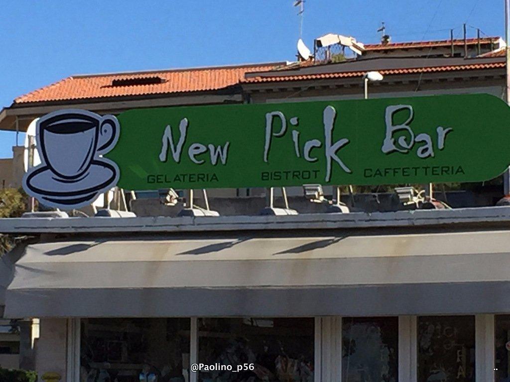 New PICK BAR