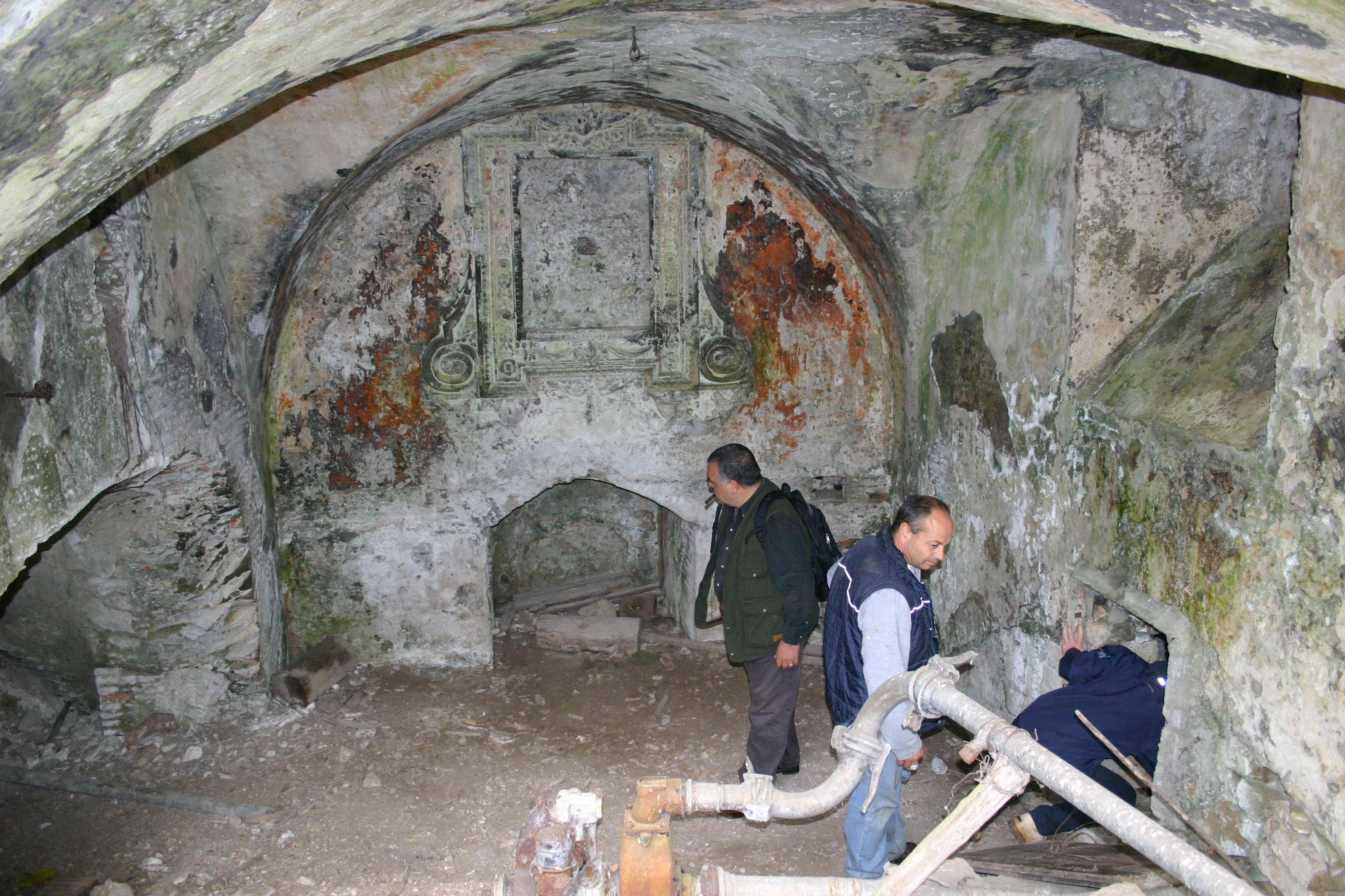 Church of Santa Maria Della Fiora / Source of the Ancient Aqua Traiana Aqueduct