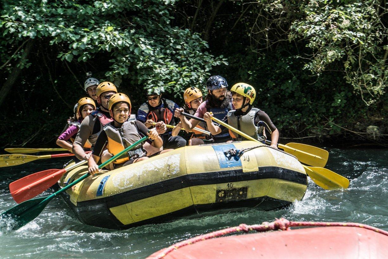 Umbria rafting e canoa