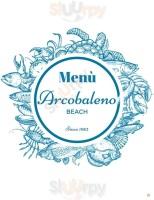 Menu Arcobaleno Beach